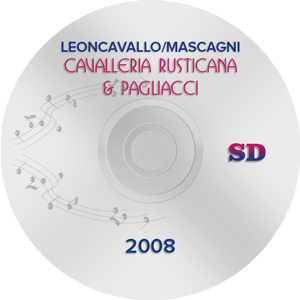 Cavalleria Rusticana & Pagliacci 2008, Orange SD (DVD)