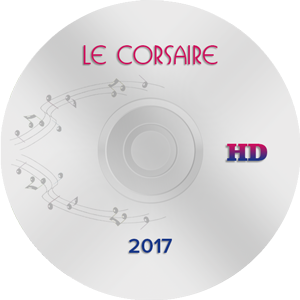 Le Corsaire, Moscow 2017 HD (Blu-ray)