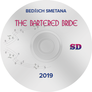 The Bartered Bride 2019, Munich SD (DVD)