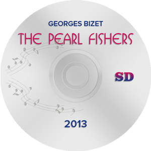 The Pearl Fishers 2013 SD (DVD)