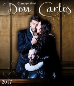 Don Carlos 2017, Paris HD (Blu-ray)
