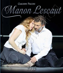 Manon Lescaut Munich 2015 Blu-ray