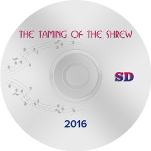 The Taming of the Shrew 2016, Moscow SD (DVD)